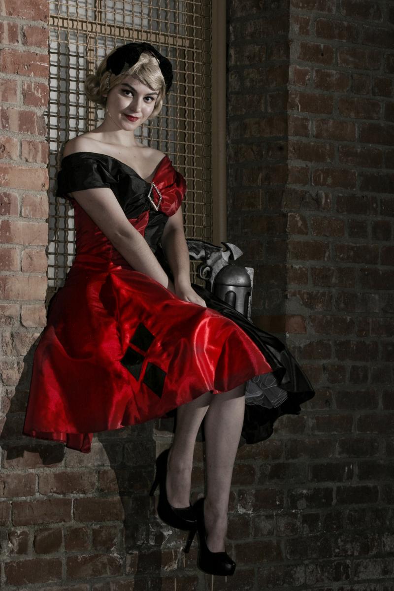 Harley Quinn Vintage Vogue by eglem
