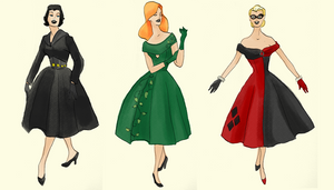 Gotham Noir Cocktail Dresses