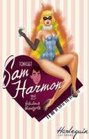 Sam Harmon Harlequin Poster