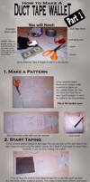 Duct Tape Wallet Tutorial 1