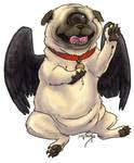 Fallen Angel Pug Cyclops