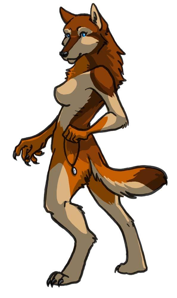 Werewolf Anna by akireru