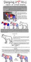 Designing a Unique Wolf by akireru