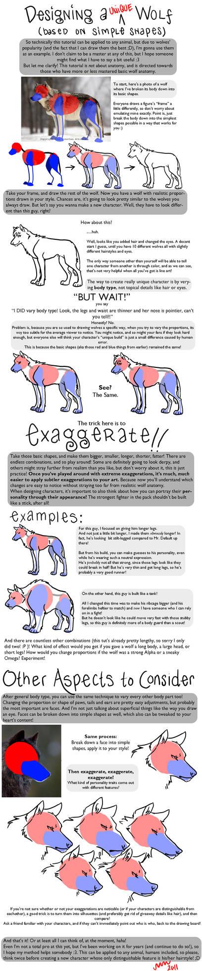 Designing a Unique Wolf