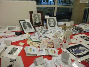 exhibition sale stall My Work