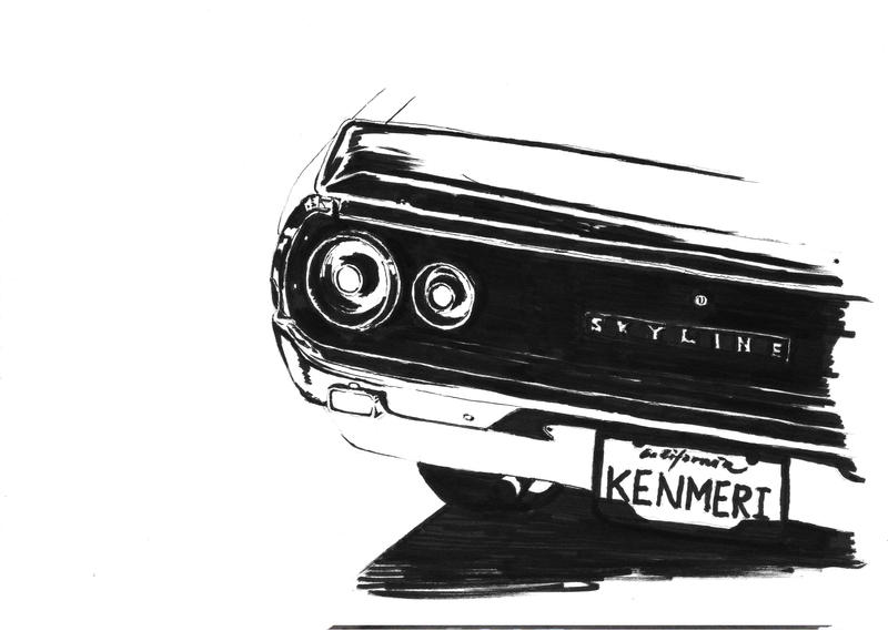Kenmeri Ink by wick3dsono