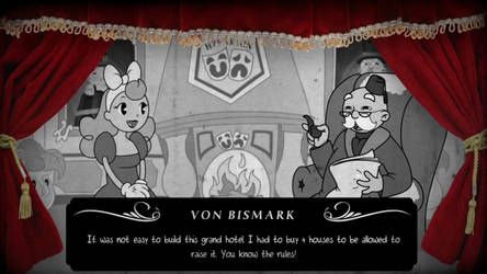 In-game screen Conversation by RedLittleHouse