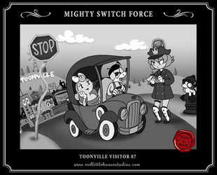 Mighty Switch Force by RedLittleHouse