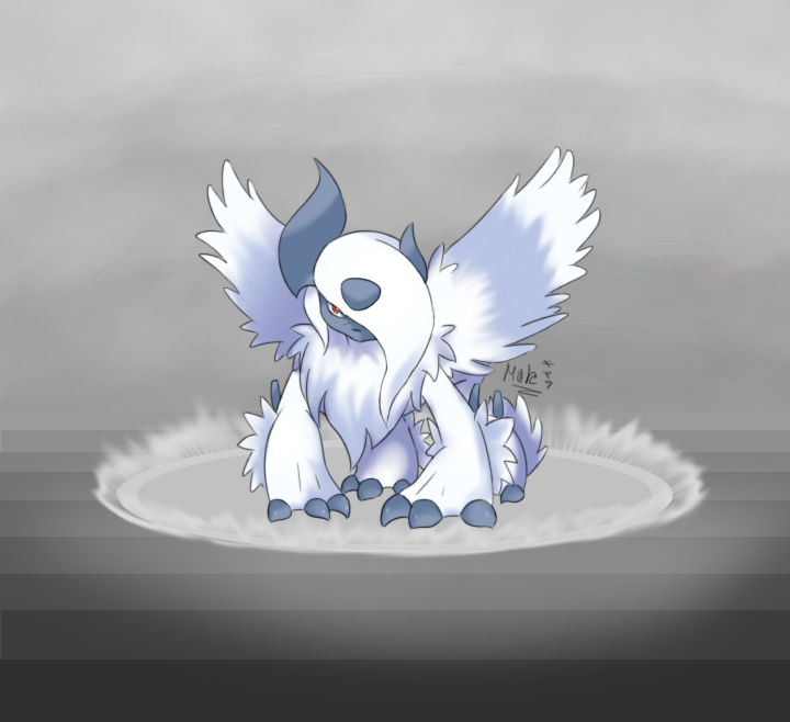 Mega Absol:. by TrollixMakie