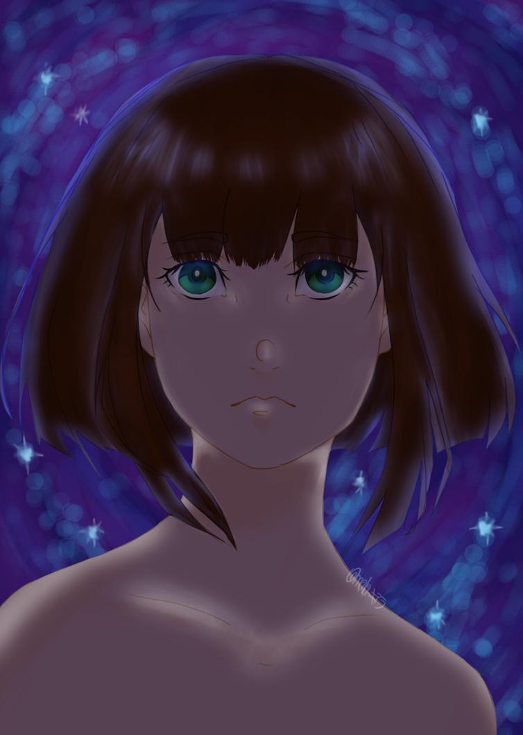 refresh the sky | chiyomi hanasuzume by TrollixMakie