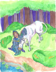 The Last Unicorn by Shexymonti