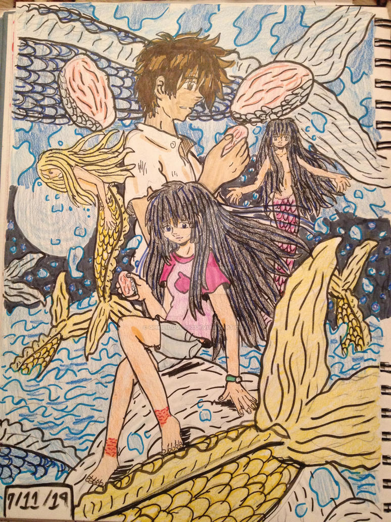Mermaid Saga: Legend of the Mermaid Flesh by GhibliLover92