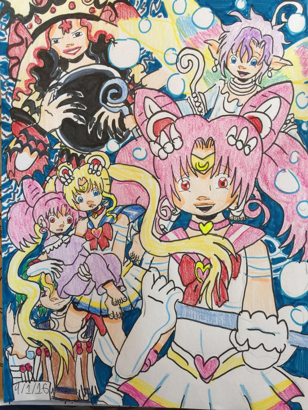 sailor moon black dream hole
