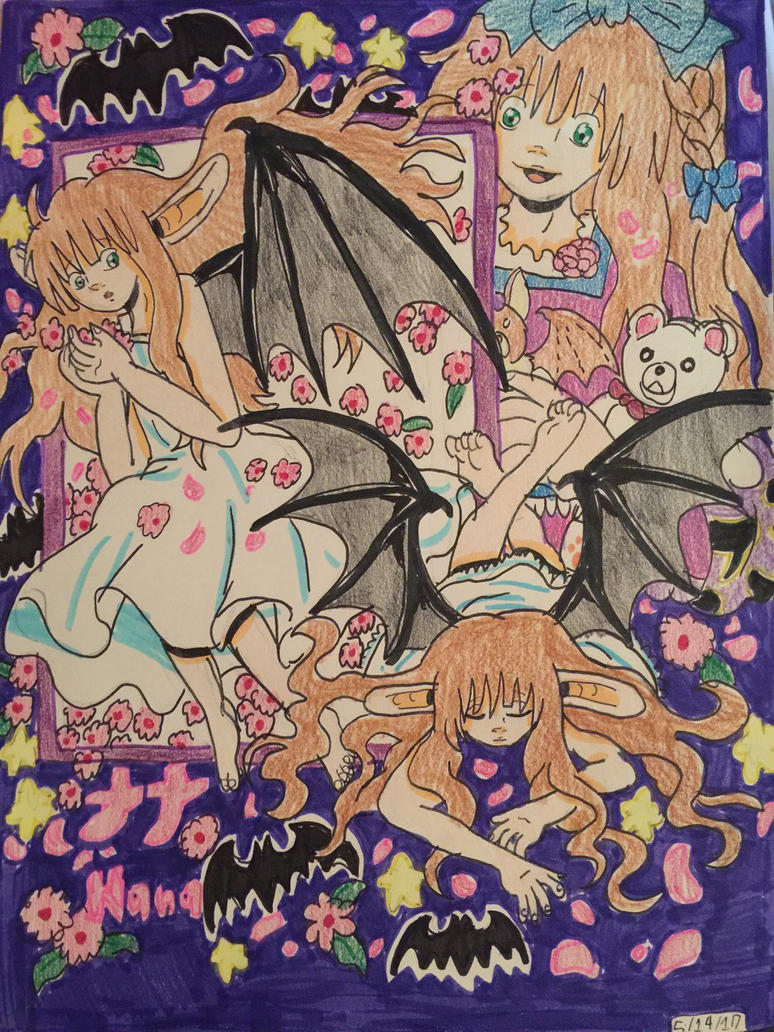 +Anima: Nana, a Bat +Anima by GhibliLover92