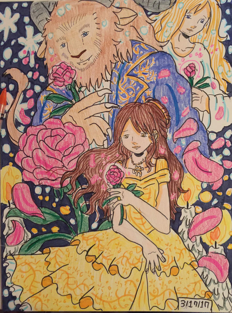 Beauty and the Beast: Tale As Old As Time by GhibliLover92