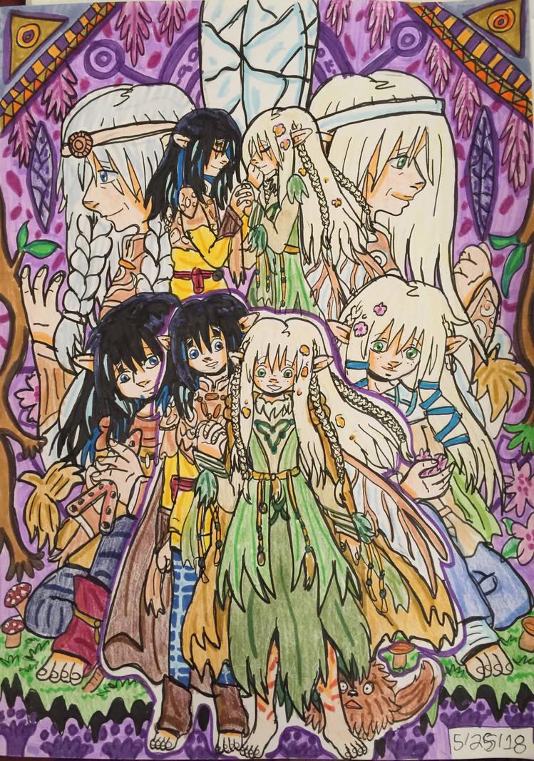 The Dark Crystal Gelflings Jen And Kira By Ghiblilover92 On Deviantart