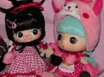 Chocolita and Kiki by WaterMouse