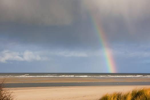 Rainbow at the Sea