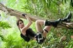 Lara Croft Jungle by ChristophGerlach