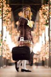 Kaede Fuyo - Tunnel of Lights by ChristophGerlach