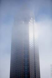 Messeturm Frankfurt (weather phenomenom, overview) by ChristophGerlach