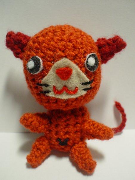Crochet Cat Ears Amigurumi
