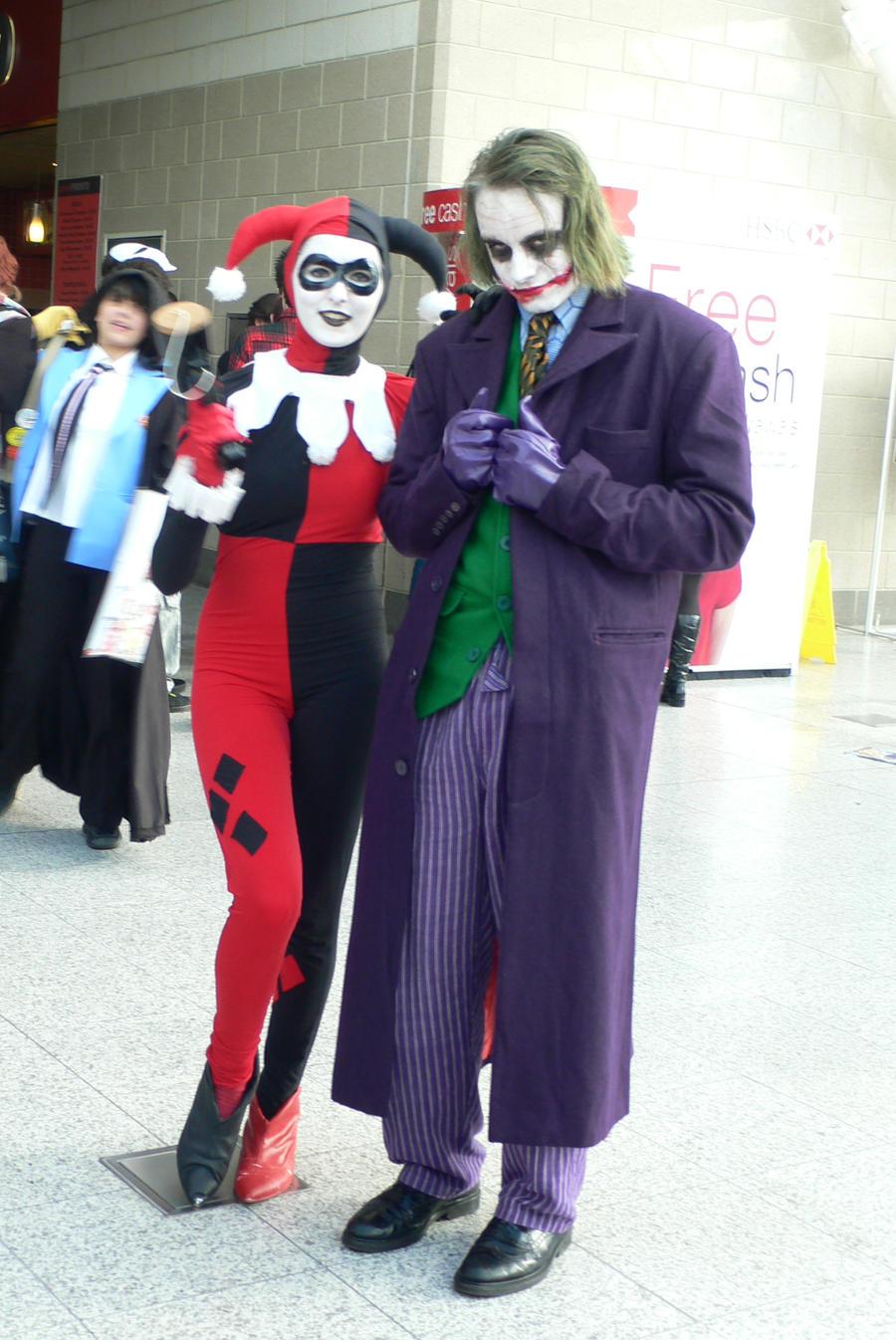 MCM , Joker and Harley Quinn by KaniKaniza