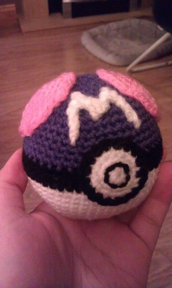 Crochet Master Ball by KaniKaniza