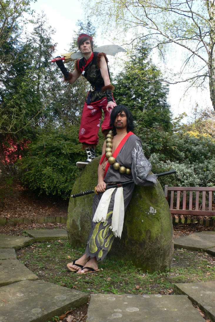 SC Yun-Seong and Mitsurugi Kitacon 2012 by KaniKaniza