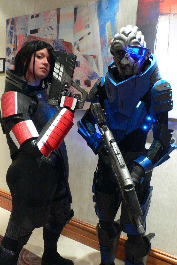 Mass Effect love Kitacon 2012 by KaniKaniza