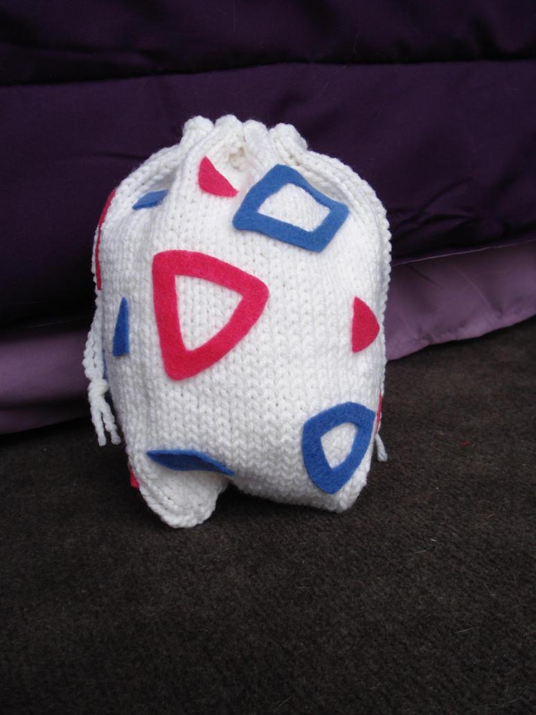 Knit Togepi Egg Bag by Elmira-san