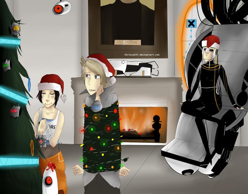 A Portal Christmas by Chrissytor on DeviantArt