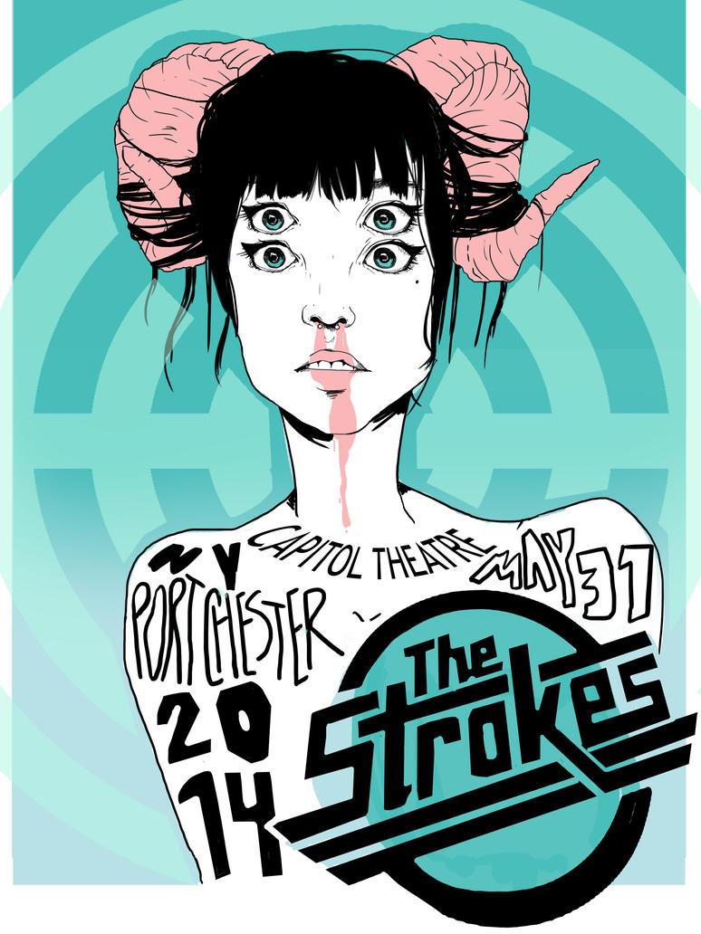 Strokes by Chrissytor