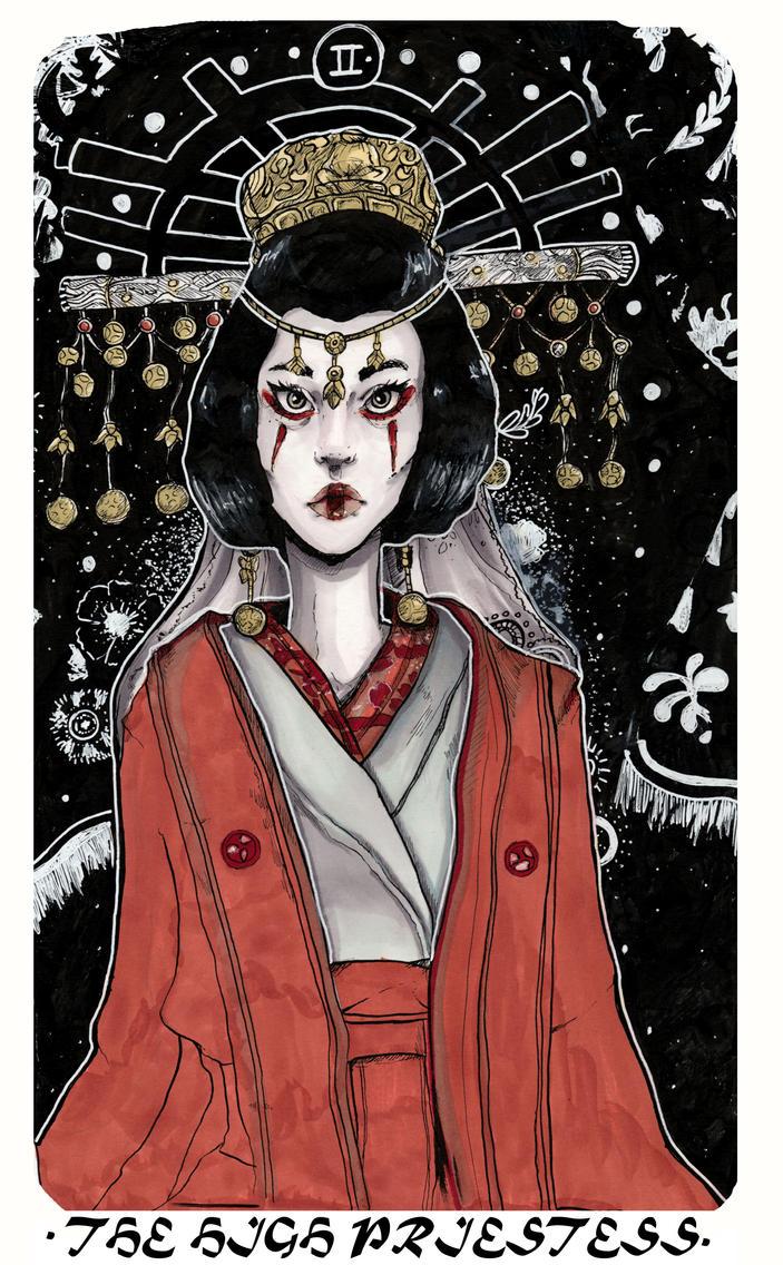 High Priestess by Chrissytor