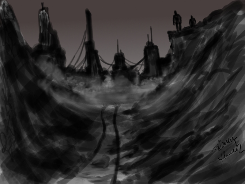 Concept Art-Work in Progress by Lonewolf898