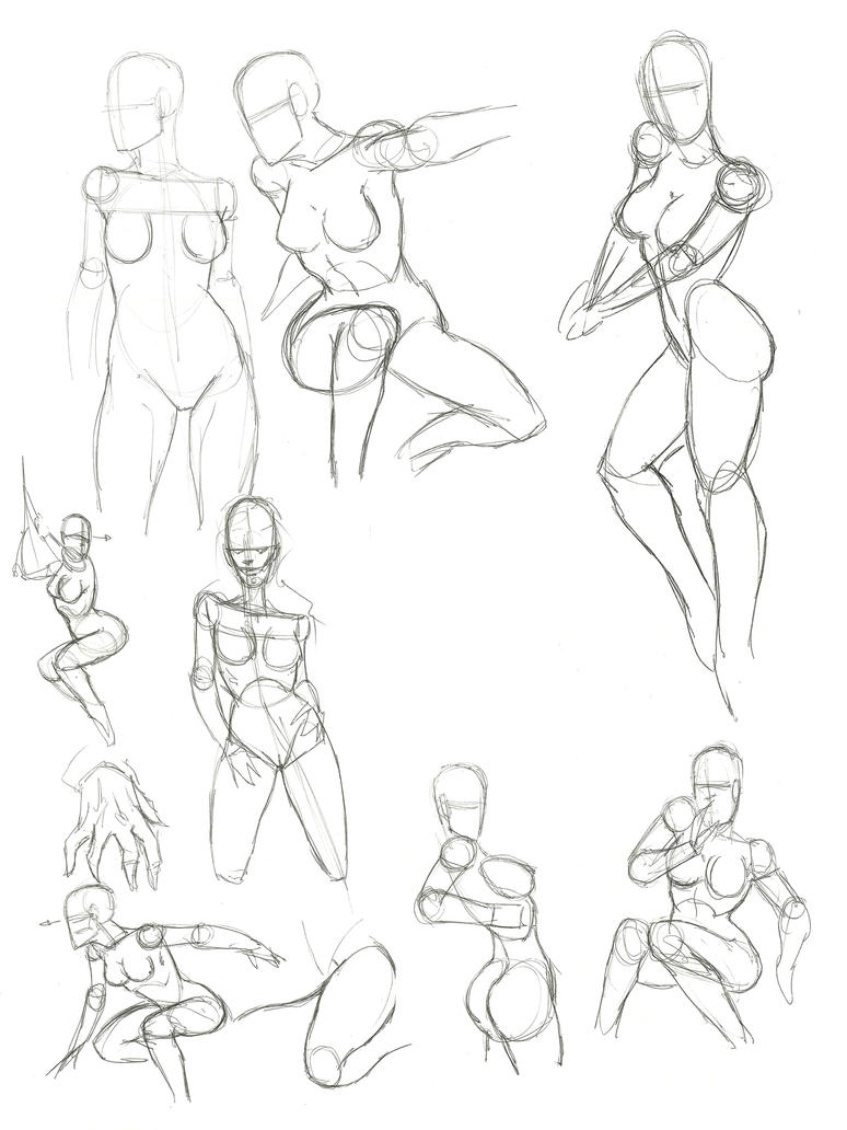 Female Anatomy by X2X0-Art on DeviantArt