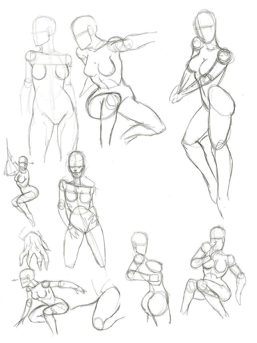 This is a graphic of Dynamite Women Anatomy Drawing
