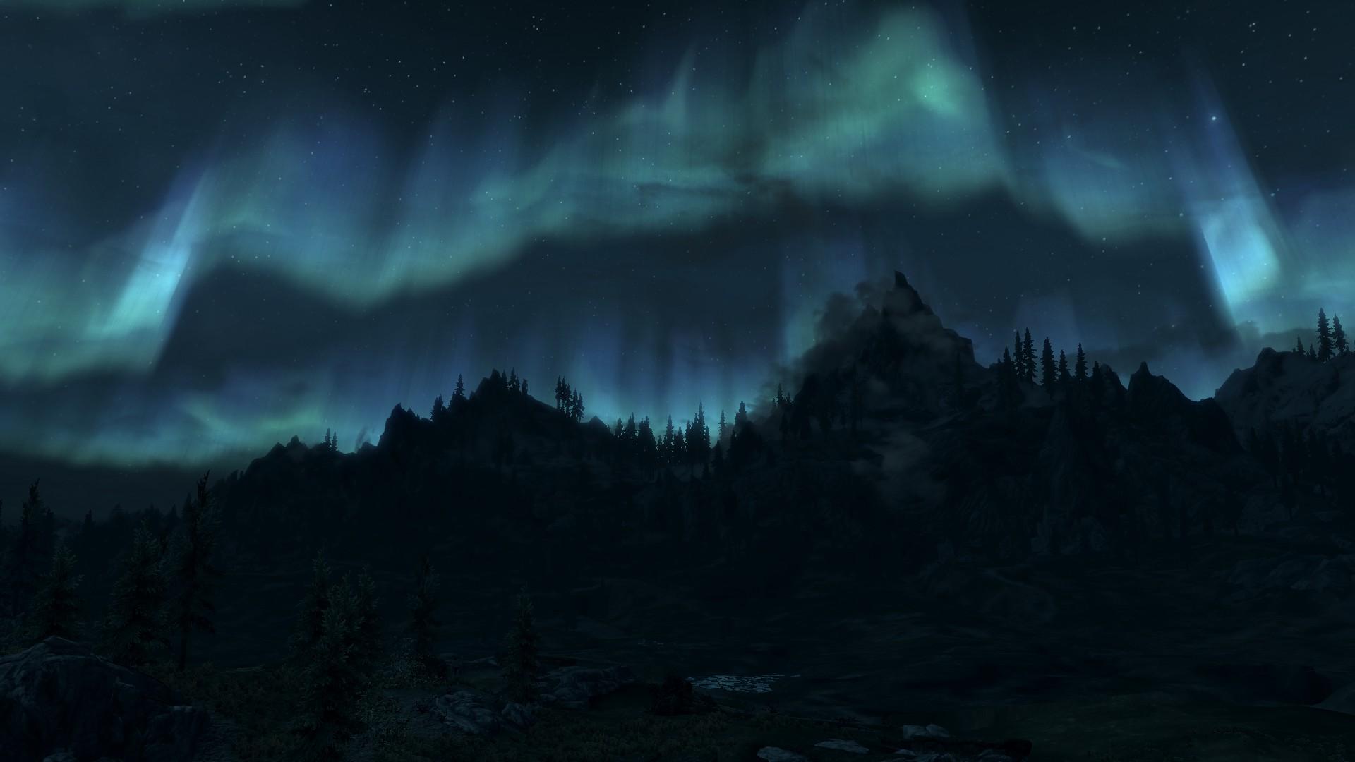 Elder Scrolls V: Skyrim - Wallpaper - 10 by Lonewolf898