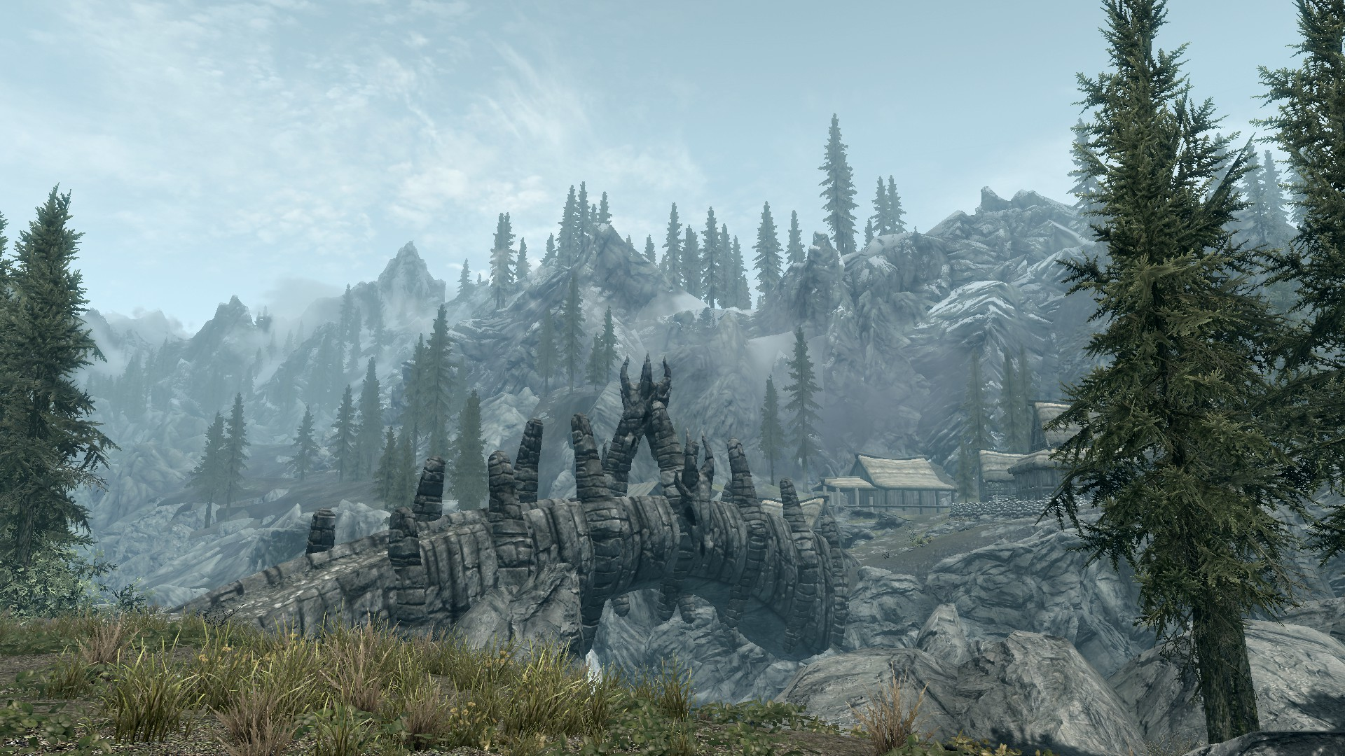 Elder Scrolls V: Skyrim - Wallpaper - 21 by Lonewolf898