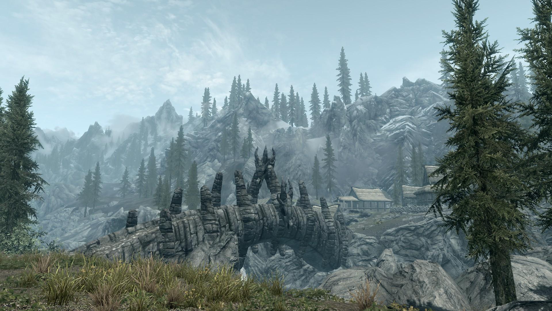 Elder Scrolls V: Skyrim - Wallpaper - 21 by Lonewolf898