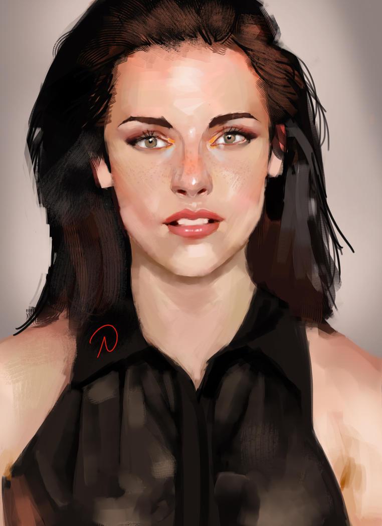 Female Portrait 07 by X2X0-Art