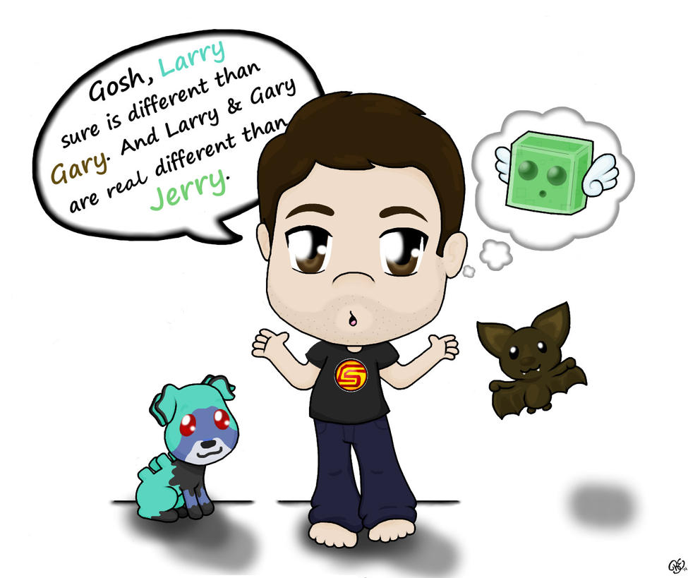 CaptainSparklez and his pets by BreeBreeTM on DeviantArt