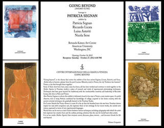 GOING BEYOND, homage to Patricia Segnan