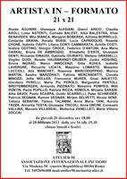 ARTISTA IN-FORMATO 21 x 21