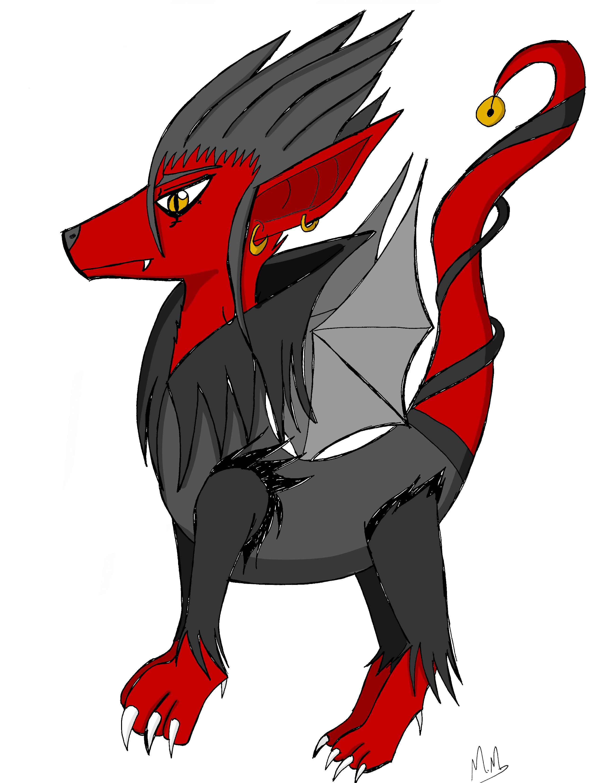 Evil Dog by MorganeManga on DeviantArt