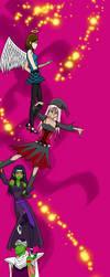 Trust Me OC and Manga Characters by MorganeManga