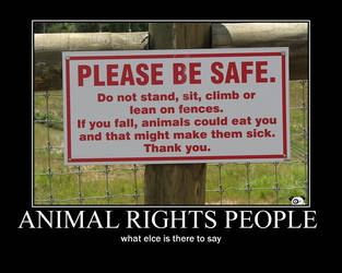 Animal rights by ninjawerr
