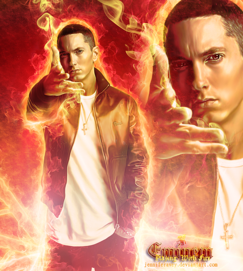 Eminem: Playing With Fire by JenniferMunswami