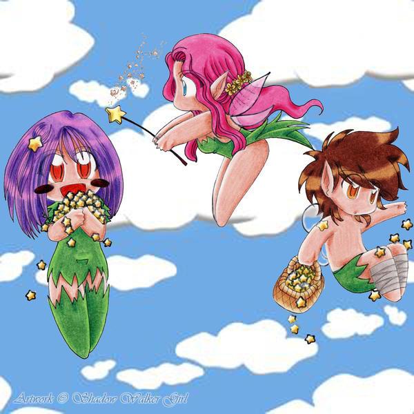 chibi anime girls fairy - photo #36