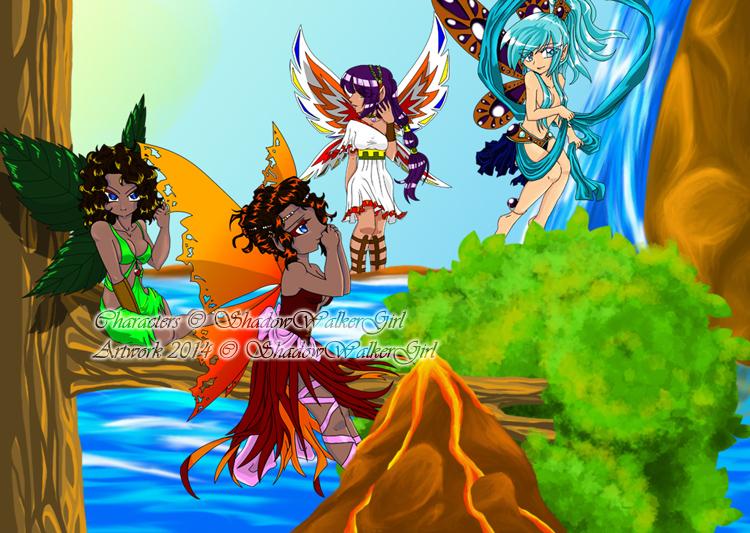 DA Challenge .061. Fairy Tale by ShadowWalkerGirl